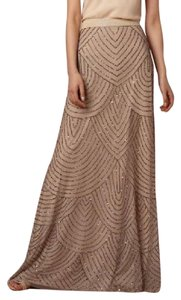 Adrianna Papell Maxi Skirt Natural