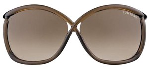 Tom Ford Tom Ford Sunglasses FT0201 Charlie 48F Transp Drk Brown/Brown Shaded