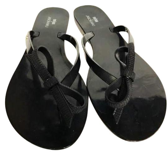 Melissa Gel Black Sandals
