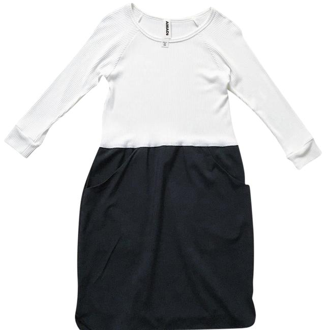 Preload https://img-static.tradesy.com/item/21370620/anthropologie-black-and-white-off-white-cream-amadi-color-shift-mid-length-workoffice-dress-size-0-x-0-2-650-650.jpg