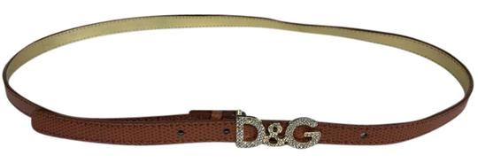 Preload https://img-static.tradesy.com/item/21370693/dolce-and-gabbana-crystal-buckle-brown-leather-thin-belt-0-2-540-540.jpg