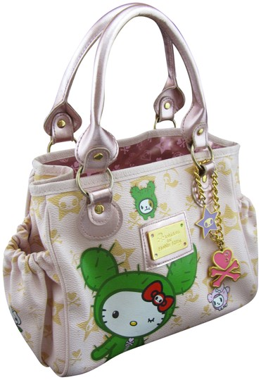 Preload https://img-static.tradesy.com/item/21370795/tokidoki-limited-edition-for-hello-kitty-pink-pvc-baguette-0-3-540-540.jpg