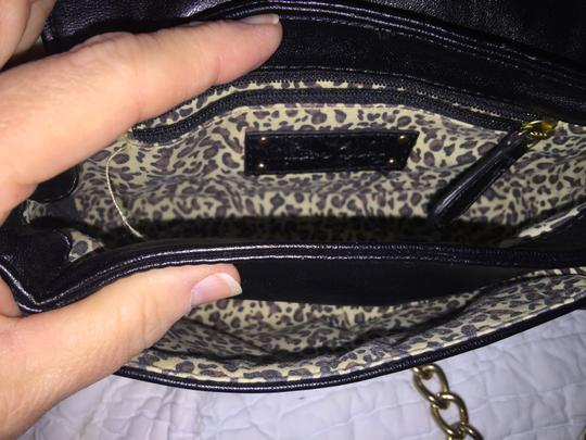 Kate Landry Mini Leopard Print Cross Body Bag