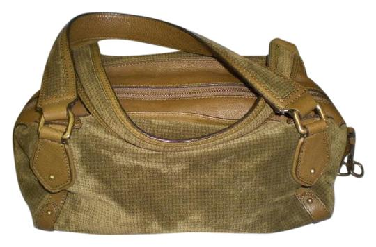 Preload https://img-static.tradesy.com/item/21370944/cole-haan-olive-green-suede-and-leather-satchel-0-3-540-540.jpg