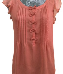 LC Lauren Conrad Top peach