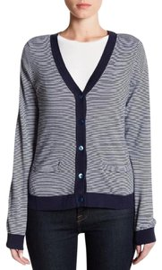 Tommy Bahama Ombre Multi Cotton Oversized Boxy Cardigan