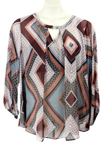Alyx Camisole Longsleeve Plus-size Top Multi Colored