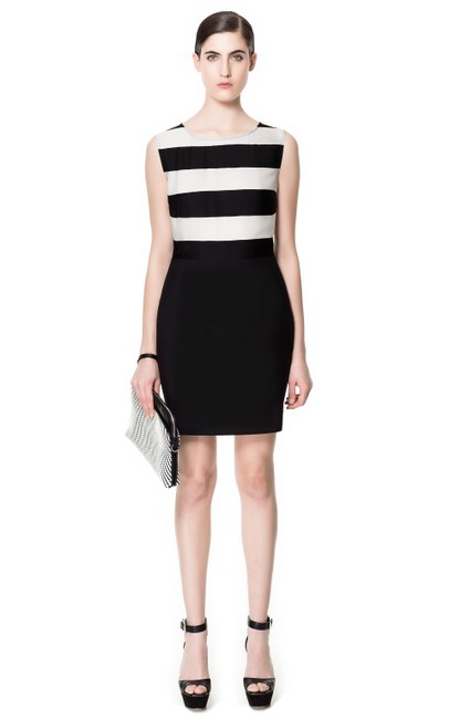 Preload https://img-static.tradesy.com/item/21371082/black-and-white-stripe-combination-mid-length-workoffice-dress-size-0-xs-0-1-650-650.jpg