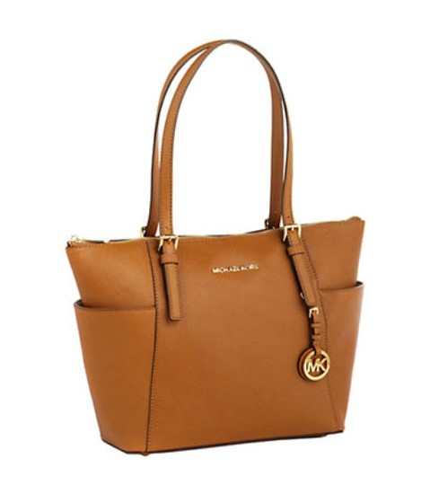 Preload https://img-static.tradesy.com/item/21371118/michael-kors-jet-set-top-zip-saffiano-luggage-leather-tote-0-0-540-540.jpg