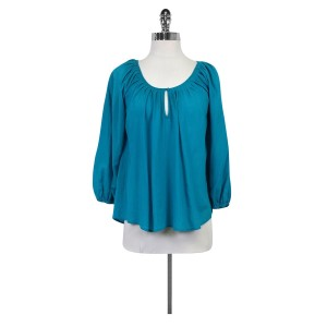Joie Bright Blue Cotton Top
