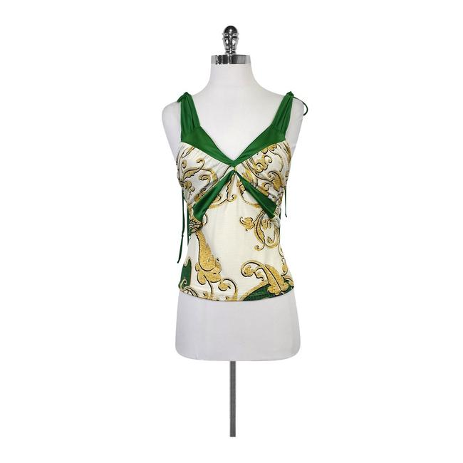 Preload https://img-static.tradesy.com/item/21371262/just-cavalli-green-and-white-printed-tank-topcami-size-4-s-0-0-650-650.jpg