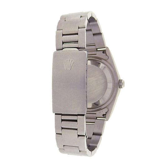 Rolex Rolex Date 15200 Stainless Steel Oyster Automatic Black Men's Watch