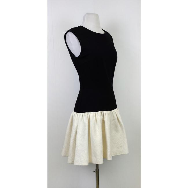 Erin Fetherston short dress Black & White With Flared Bottom on Tradesy