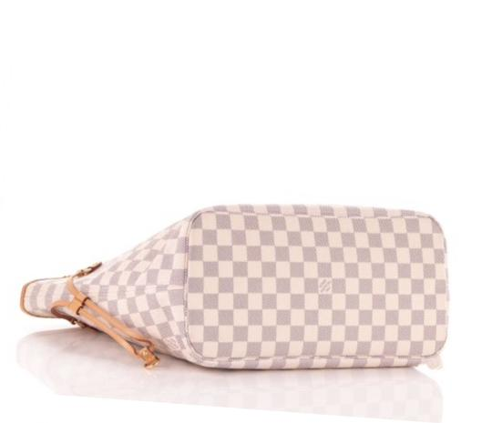 Louis Vuitton Neverfull Tote in Damier Azur Image 1