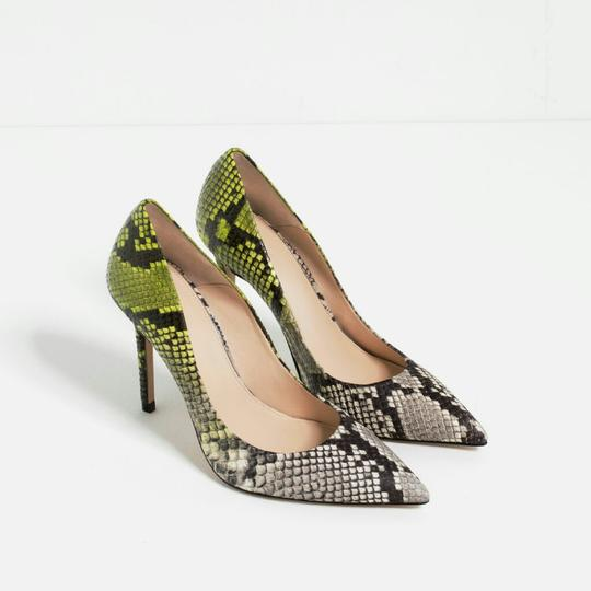 Zara Multicolor Pumps
