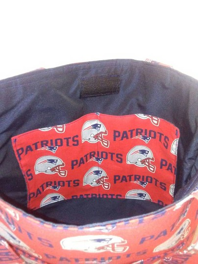 Other Hadbags Purses Football New England Patriots Tote in Red