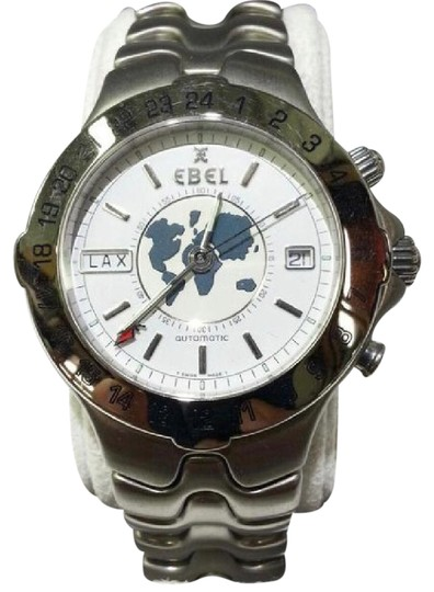 Preload https://img-static.tradesy.com/item/21371459/ebel-world-time-meridian-gmt-stainless-sportwave-watch-0-1-540-540.jpg