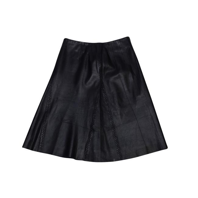 Preload https://img-static.tradesy.com/item/21371460/margaret-godfrey-black-leather-flared-size-6-s-28-0-0-650-650.jpg