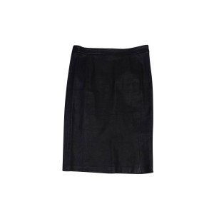 J Brand Leather Pencil Skirt