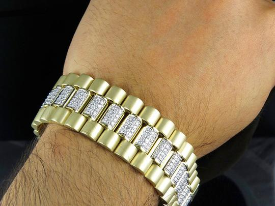 Other Mens 27MM Presidential Style Real Diamond Bracelet 8.37 ct