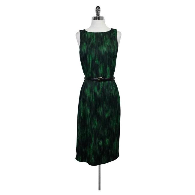 Michael Kors Print Belted Dress