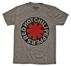 Red Hot Chili Peppers The Treasured Hippie Music Boho Band Memorabilia T Shirt Heather Gray