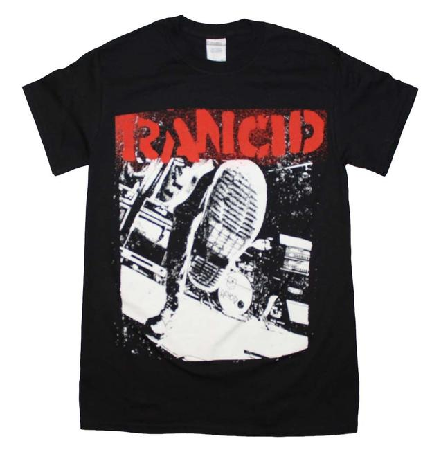 Rancid The Treasured Hippie Music Boho Band Memorabilia T Shirt Black
