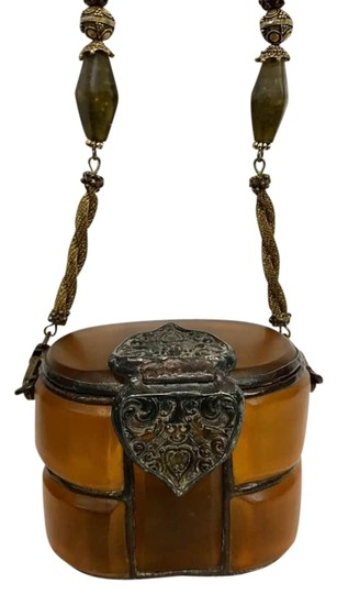Preload https://img-static.tradesy.com/item/21371631/amethyst-amber-collectibles-handcrafted-small-resin-shoulder-bag-0-7-540-540.jpg
