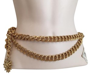 Chanel Chanel Vintage Lion Head Pendant Belt