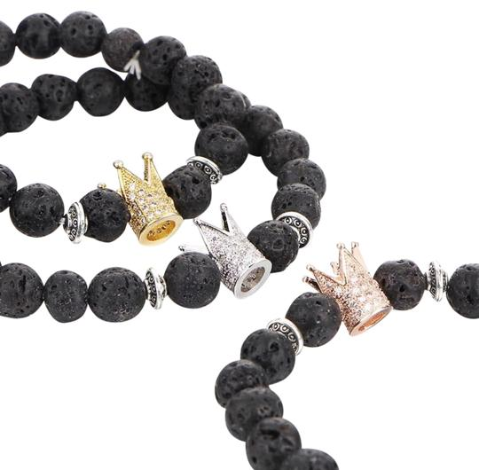 Preload https://img-static.tradesy.com/item/21371753/gold-plated-and-black-men-s-lava-bead-crown-0-1-540-540.jpg