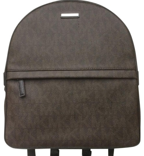 Preload https://img-static.tradesy.com/item/21371980/michael-kors-sale-jet-set-brown-logo-pvc-leather-nylon-backpack-0-1-540-540.jpg