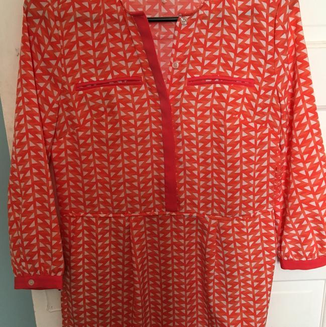 Original Penguin by Munsingwear short dress coral and white on Tradesy