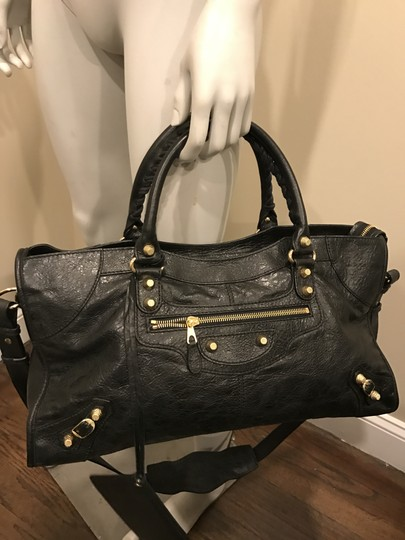 Balenciaga Gaint 12 Gold Part Time Cross Body Bag