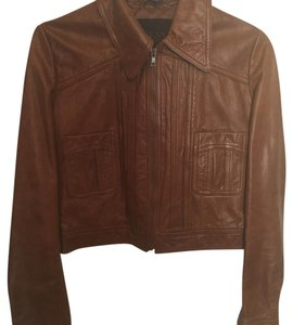 Guess Leather Jacket brown Leather Jacket