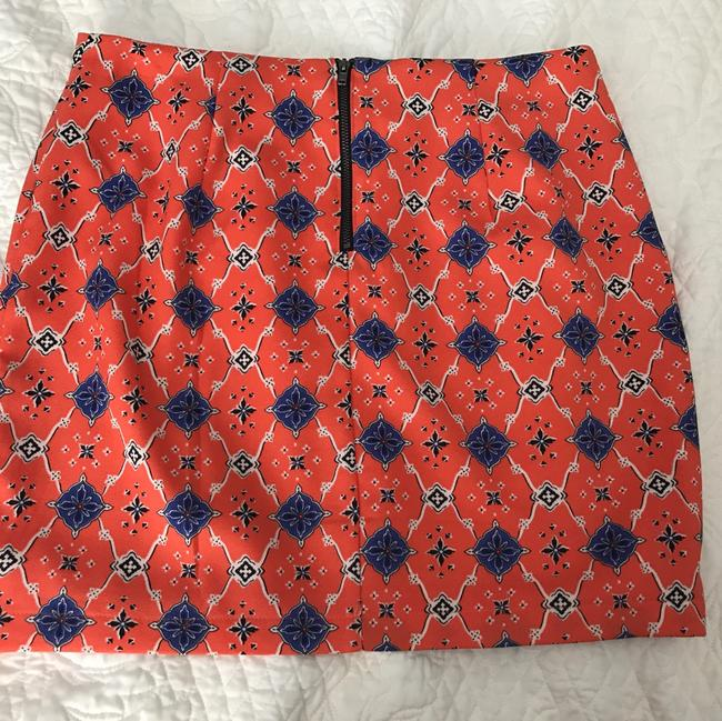 Forever 21 Mini Skirt Orange