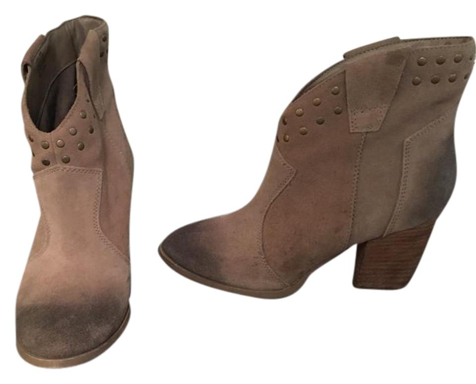 1d34fa1f88a Steve Madden Brown Studded Ankle Boots/Booties Size US 8.5 Regular (M, B)  67% off retail