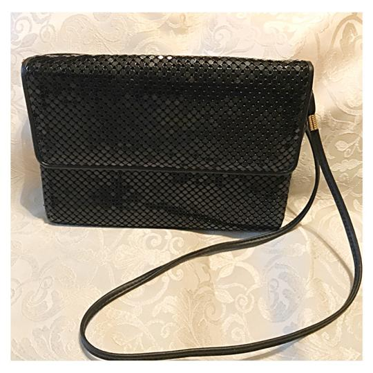 Preload https://img-static.tradesy.com/item/21372286/whiting-and-davis-w-and-d-sqrec-jet-black-chain-mail-shoulder-bag-0-0-540-540.jpg