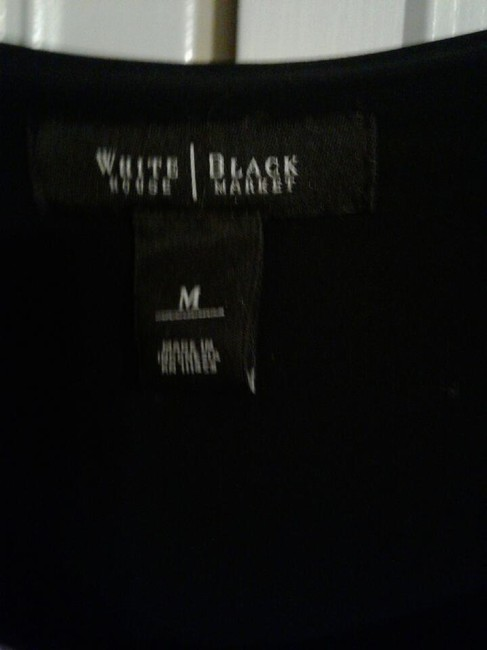 White House | Black Market Top black & white