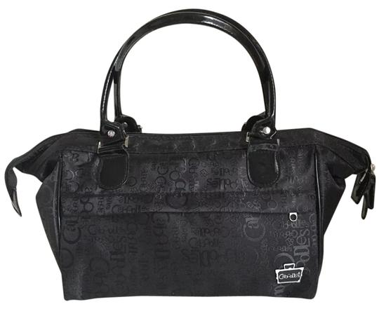 Preload https://img-static.tradesy.com/item/21372348/black-nylon-makeup-tote-cosmetic-bag-0-1-540-540.jpg