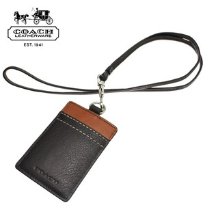 Coach Coach men's ID Lanyard, Badge ID Badge Card Holder