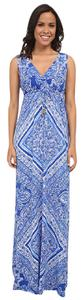 Blue & White Maxi Dress by Lilly Pulitzer