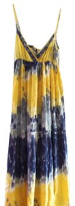 yellow/blue Maxi Dress by Angie
