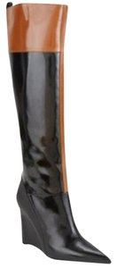 Derek Lam black and brown Boots