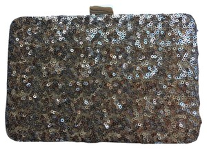 White House | Black Market silver, gold, rose gold Clutch