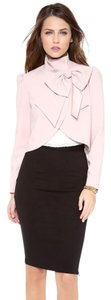 Alice + Olivia Tory Burch Dvf Elizabeth And James Iro The Row Pink Jacket