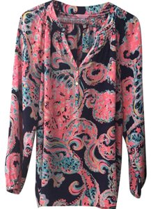 Lilly Pulitzer Top blue, pink
