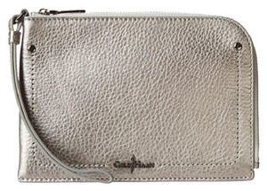Cole Haan silver Clutch
