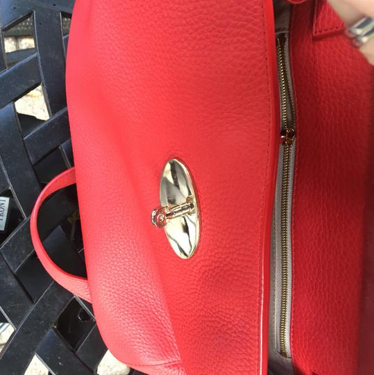 Mulberry Satchel in red Image 2
