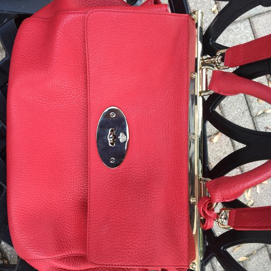 Mulberry Satchel in red Image 3