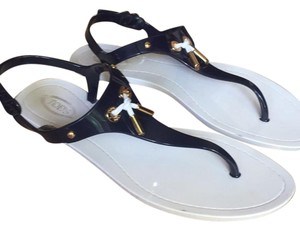 Tods navy and white Sandals